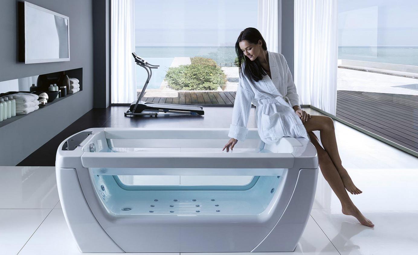 Domácí Wellness: Vířivky, bazénky, sprchy, vany a sauny