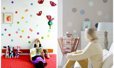 fotogalerie- puntíky na zeď - inspirace