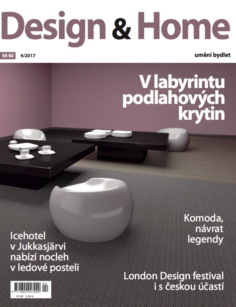 Titulní strana Design&Home 4/2017